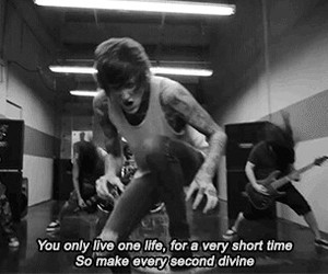 suicide silence, you only live once, and mitch lucker image