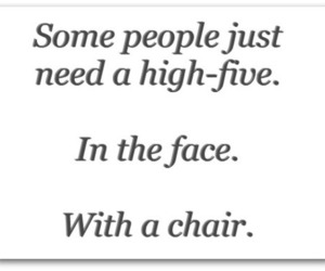 chair, quotes, and face image