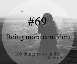 being, confident, and more image
