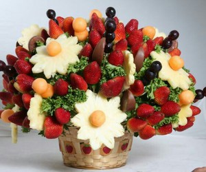 fresas, healthy, and ramo image