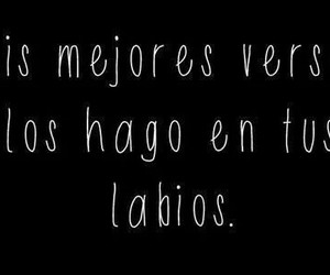 frases, labios, and versos image