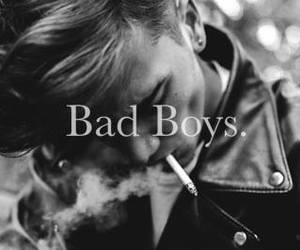 b&w, bad boys, and Hot image
