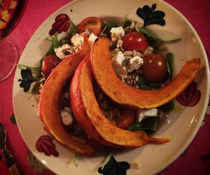 dinner, skinny, and squash image
