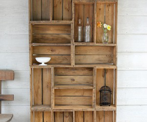 diy, shelf, and wood image