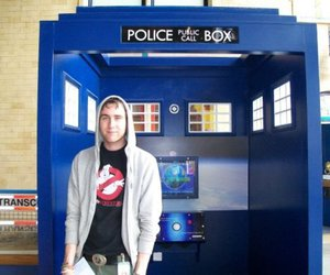 doctor who, harry potter, and Matthew Lewis image