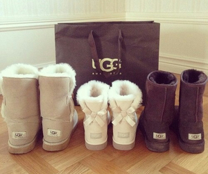 boots, winter, and fashion image