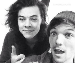 Harry Styles, louis tomlinson, and larry image