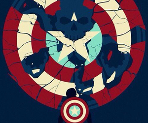 captain america, hydra, and Marvel image