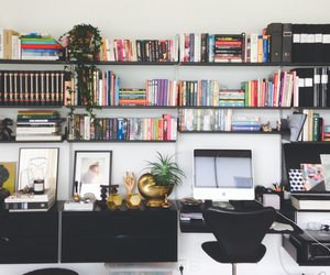 books, office, and Tom Dixon image
