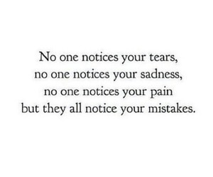 quote, mistakes, and pain image