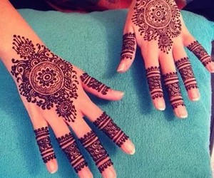 boho, design, and henna image