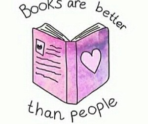 book, books, and people image