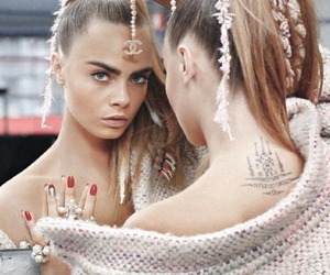 cara delevingne, chanel, and model image