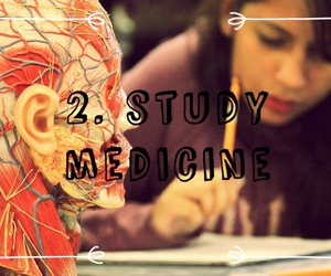 medicine, study, and 100 things to do image