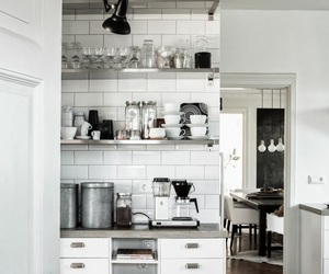 coffee, kitchen, and white image