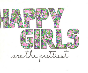 floral, text, and girls image