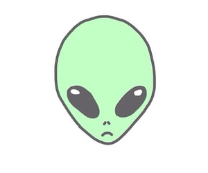 alien and overlay image