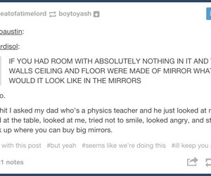 tumblr, funny, and mirror image