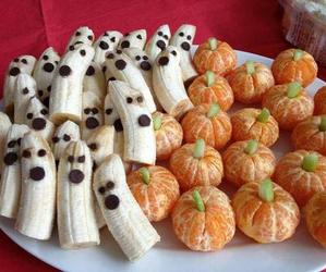Halloween, banana, and food image