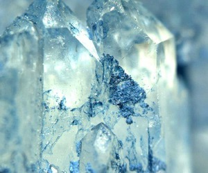 crystal, ice, and blue image