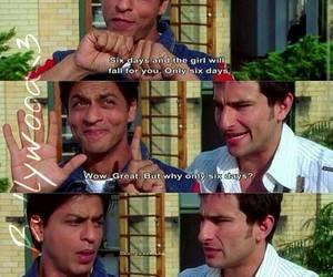 bollywood, funny, and shahrukh khan image