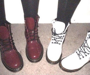 shoes, grunge, and white image