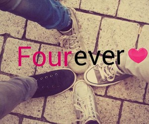 forever, four, and friendship image