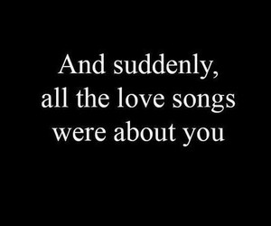 love, song, and you image