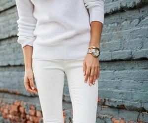 bianco, blanco, and fashion image