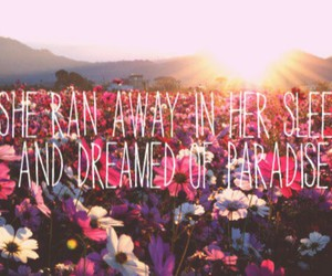 paradise, flowers, and Dream image
