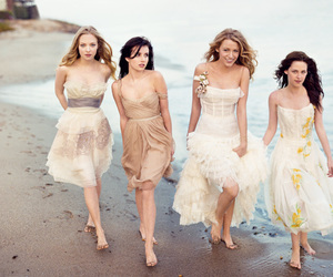 beach, dresses, and famous image