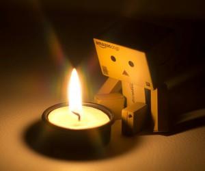 danbo and candle image