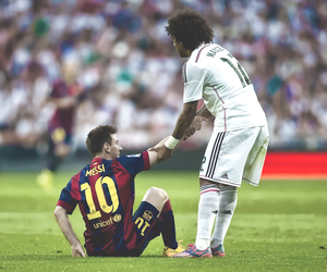 football, real madrid, and respect image