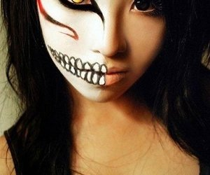 Halloween, bleach, and makeup image