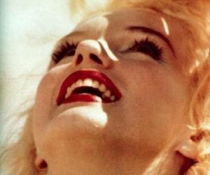 happines, beauty, and lips image