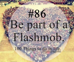 be, flashmob, and of image