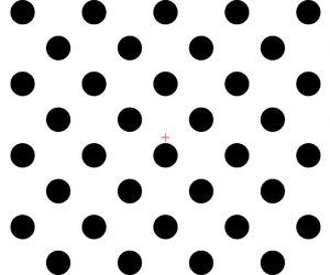 background, black and white, and polka dots image