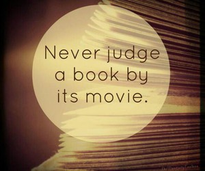 book, movie, and quote image