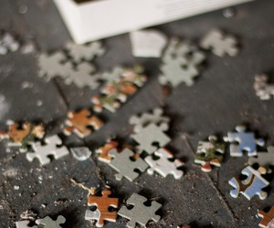 puzzle, game, and pieces image