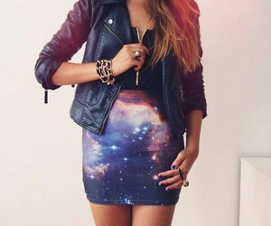 galaxy, hipster, and outfit image