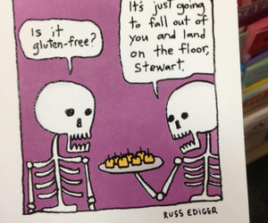 funny and skeleton image