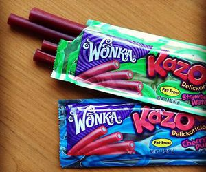 candy, sweets, and wonka image
