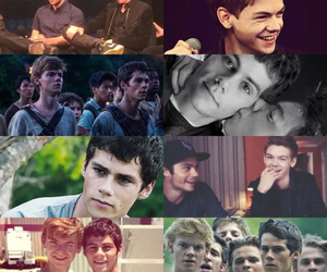 newt, thomas, and teen wolf image