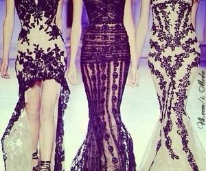 fashion, dresses, and modeshow image