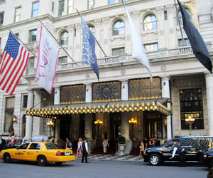 cap, hotel, and new york image