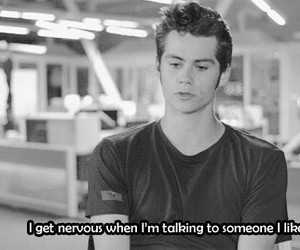 dylan o'brien, teen wolf, and quote image