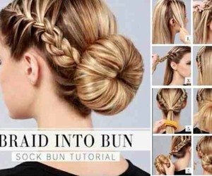 braid, diy, and hairstyles image