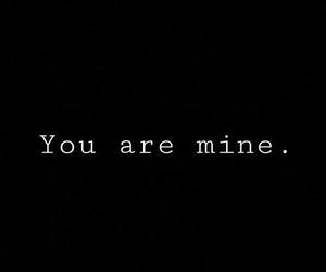 love, mine, and black image