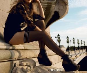 fashion, model, and paris image