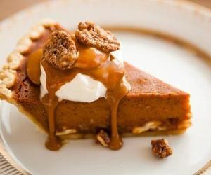pie, food, and pumpkin image